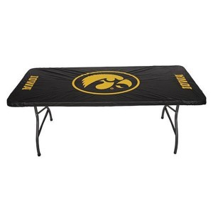 Iowa Hawkeyes 6 Foot Table Cover