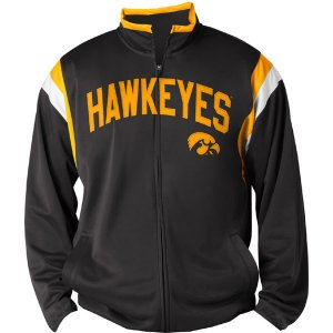 Iowa Hawkeyes Post Up Track Jacket