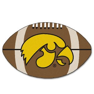 Iowa Hawkeyes Football Fan Mat