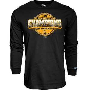 Iowa Hawkeyes Wrestling Never Fail Championship Tee - Long Sleeve