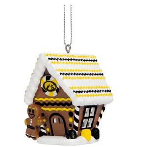Iowa Hawkeyes Ginger Bread House Ornament