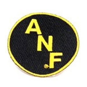 Iowa Hawkeyes ANF Round Patch