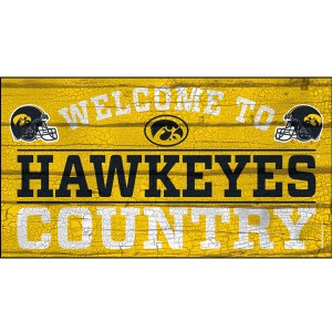 Iowa Hawkeyes Welcome To Hawkeye Country