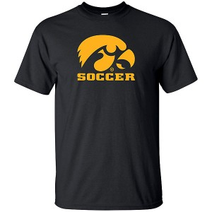 Iowa Hawkeyes Soccer Short Sleeve Tee