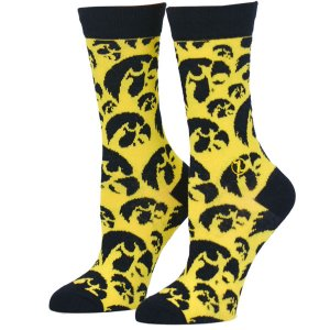 Iowa Hawkeyes Mens Stacked Socks