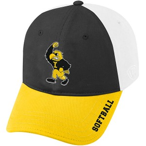 Iowa Hawkeyes Strike Softball Cap