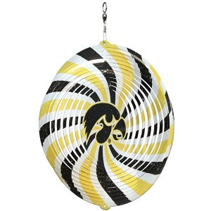 "Iowa Hawkeyes Herky Head 7"" Swirly"