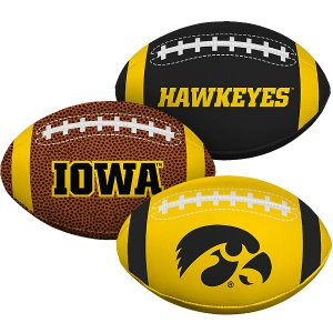 Iowa Hawkeyes Softee Football Set