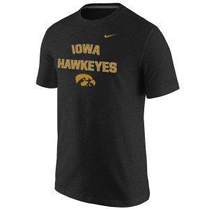 Iowa Hawkeyes Tri-Blend School Mascot Tee
