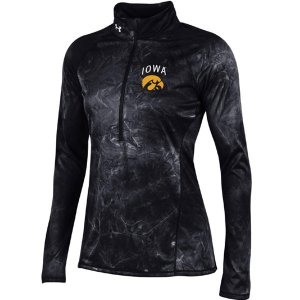 Iowa Hawkeyes Women's Fusion Tech 1/2 Zip Top
