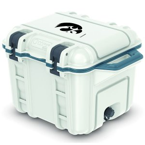 Iowa Hawkeyes Venture White Cooler