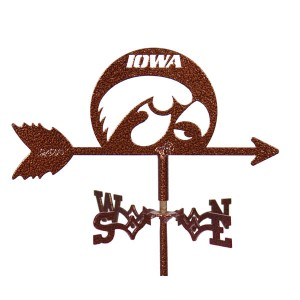 Iowa Hawkeyes Mini Weathervane