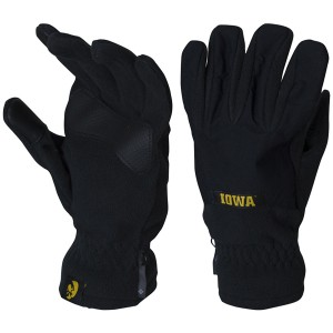 Iowa Hawkeyes Overlay Gloves