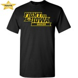 Iowa Hawkeyes Youth Soccer Fight for Iowa Tee