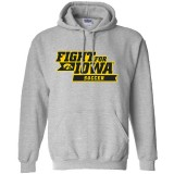 Iowa Hawkeyes Soccer Fight for Iowa Hoodie