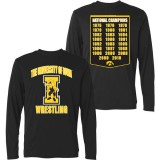 Iowa Hawkeyes Wrestling Championship Long Sleeve Tee