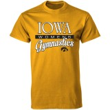 Iowa Hawkeyes Youth Women's Gymnastics Tee