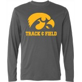 Iowa Hawkeyes Track & Field Tee - Long Sleeve