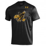 Iowa Hawkeyes Foundation Tech Black Tee