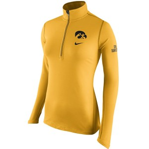 Iowa Hawkeyes Women's Tailgate Element HZ Top
