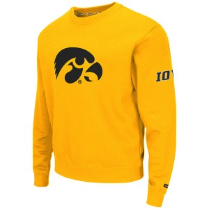 Iowa Hawkeyes Zone Crew Sweatshirt