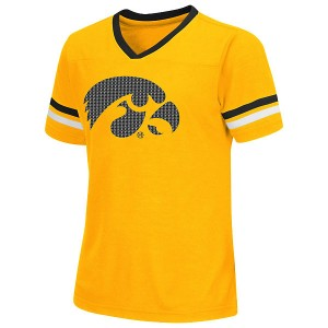 Iowa Hawkeyes Girls Titanium Tee
