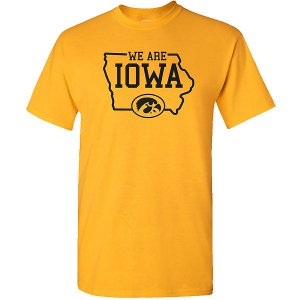 Iowa Hawkeyes We Are IOWA Tee