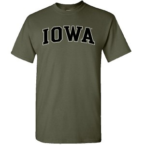 Iowa Hawkeyes Arch Tee (Military Green)
