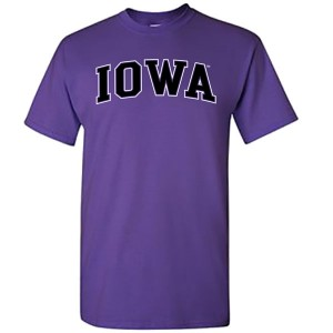 Iowa Hawkeyes Arch Tee (Purple)