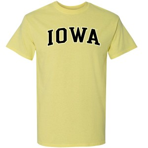 Iowa Hawkeyes Arch Tee (Yellow)