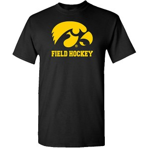 Iowa Hawkeyes Field Hockey Logo Short Sleeve Tee