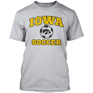 Iowa Hawkeyes Soccer Performance Tee
